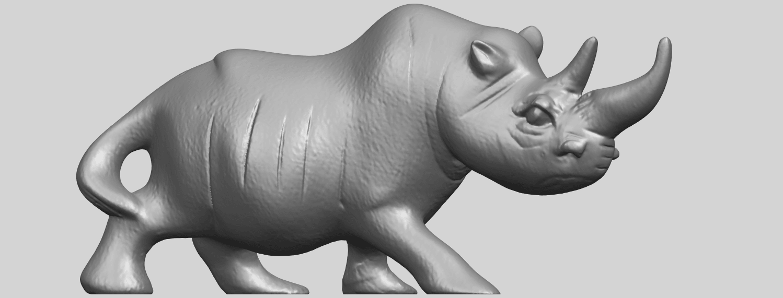 TDA0310_Rhinoceros_iiA07.png Download free STL file Rhinoceros 02 • 3D printing model, GeorgesNikkei