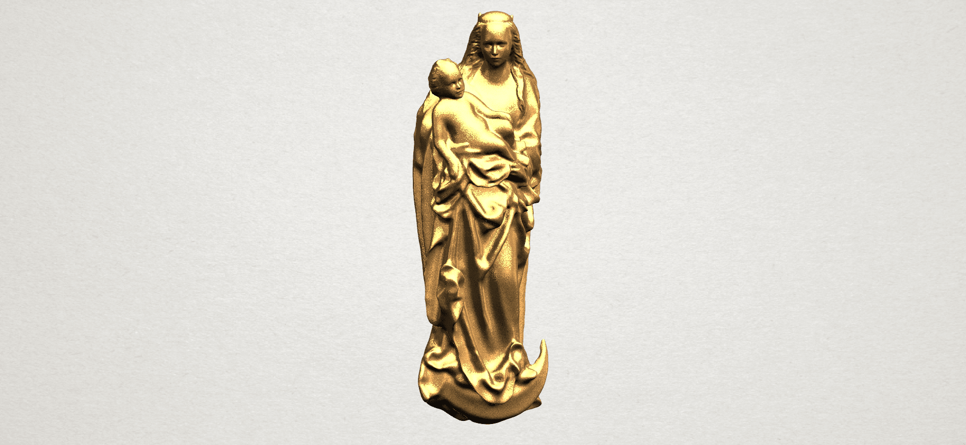 Mother and Child (vi) - A01.png Download free STL file Mother and Child 06 • 3D printing template, GeorgesNikkei