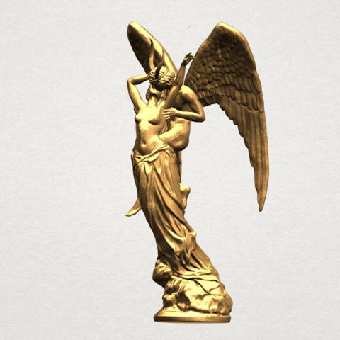 Angel and devil - C01.png Download free 3DS file Angel and devil • 3D print template, GeorgesNikkei