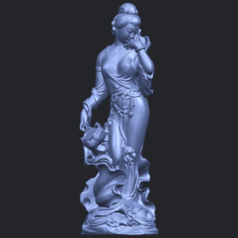 06_TDA0449_Fairy_04B01.png Télécharger fichier STL gratuit Fée 04 • Plan à imprimer en 3D, GeorgesNikkei