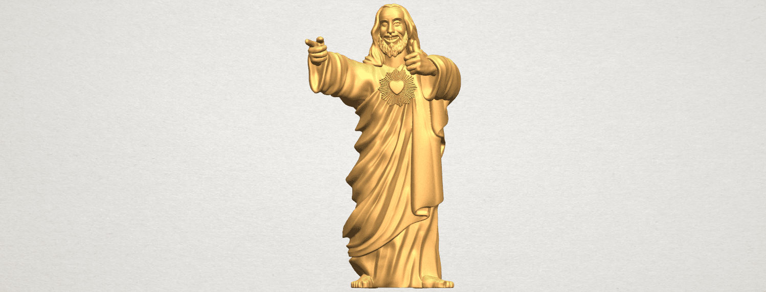 TDA0485 Jesus - Funny A01 ex500.png Download free STL file  Jesus - Funny • 3D printer template, GeorgesNikkei