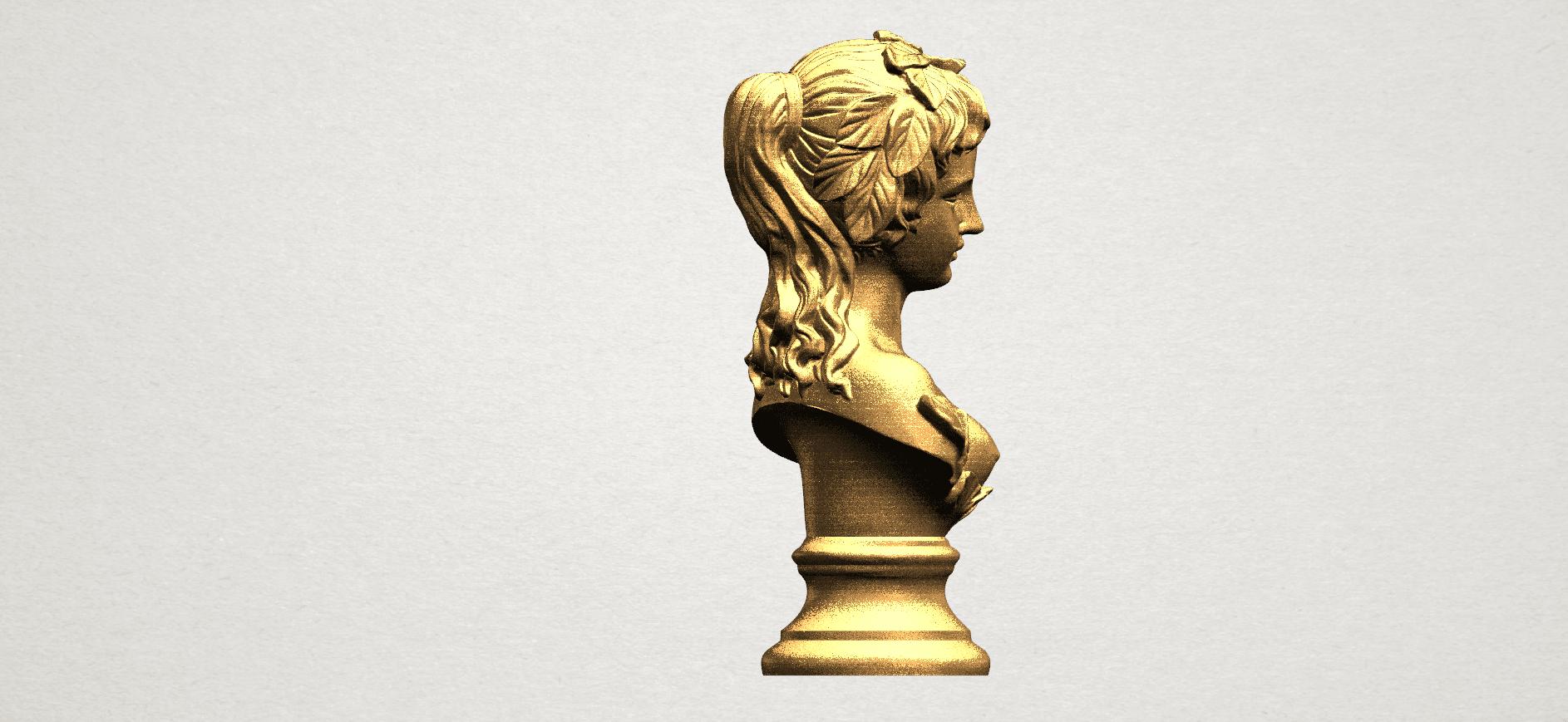 Bust of Venus 80mm - A06.png Download free STL file Bust of Venus • 3D print model, GeorgesNikkei
