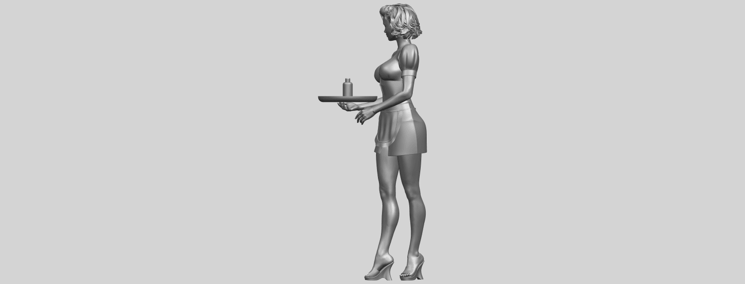 07_TDA0475_Beautiful_Girl_09_WaitressA04.png Download free STL file Beautiful Girl 09 Waitress • 3D printable object, GeorgesNikkei