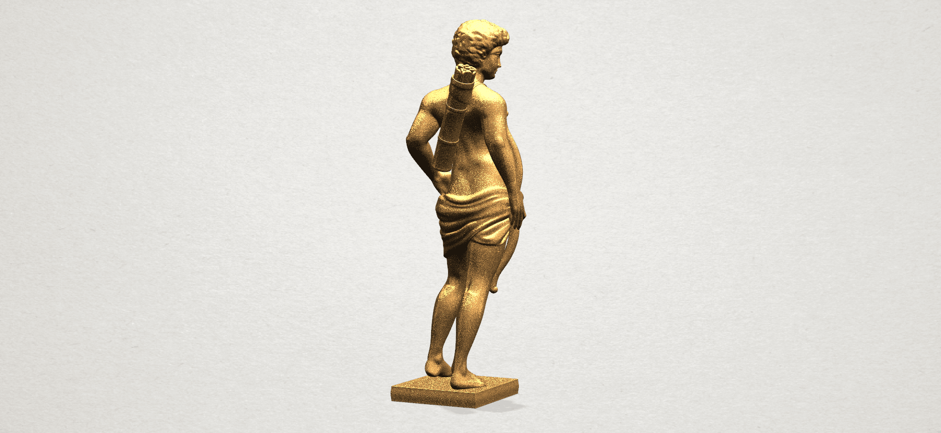 Michelangelo (ii) - A04.png Download free STL file Michelangelo 02 • Template to 3D print, GeorgesNikkei