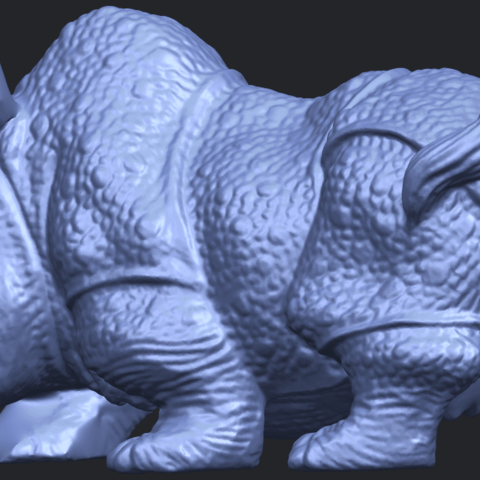 02_TDA0312_Rhinoceros_iv_FemaleB02.png Download free STL file  Rhinoceros 05 Female • 3D print object, GeorgesNikkei