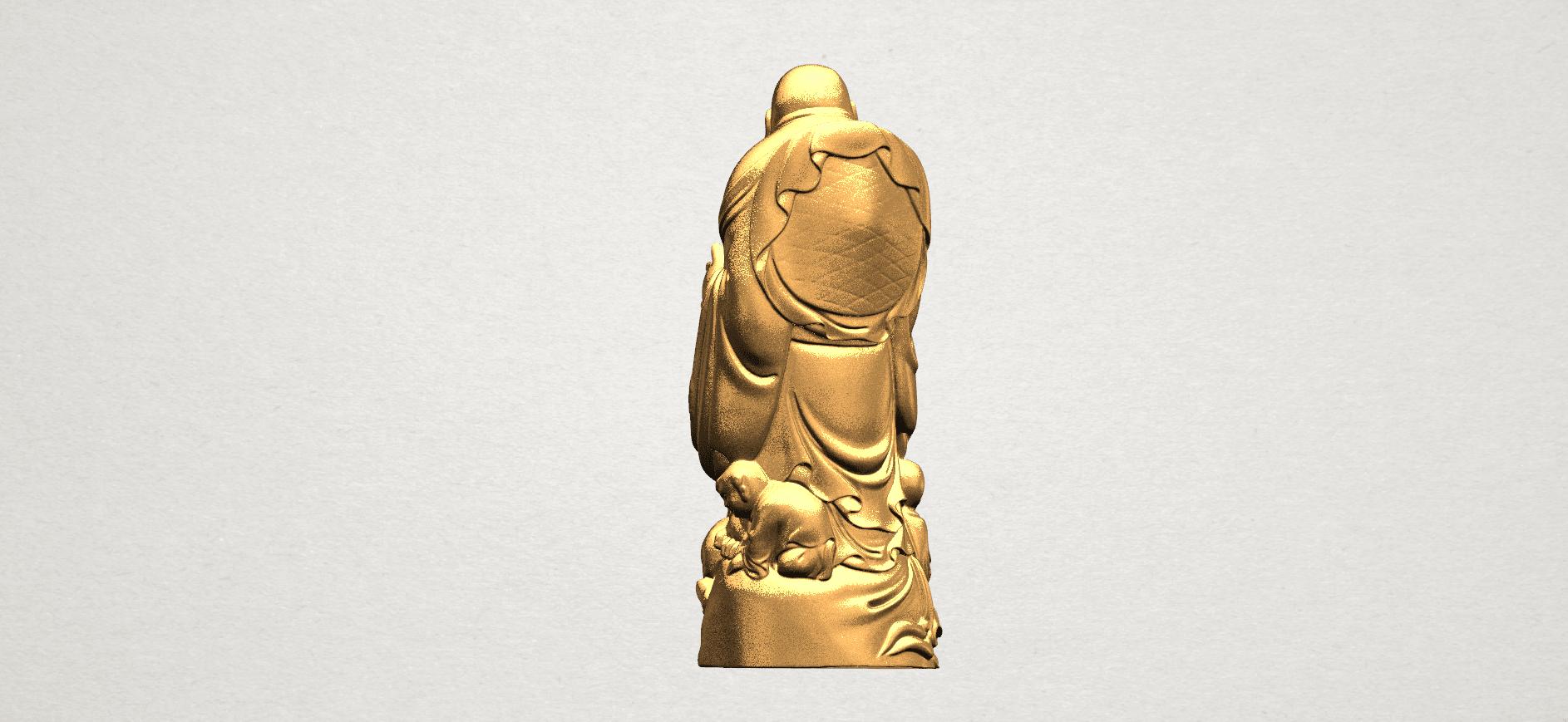 TDA0070 Metteyya Buddha 03 - 88mm - A05.png Download free STL file Metteyya Buddha 03 • 3D printing object, GeorgesNikkei