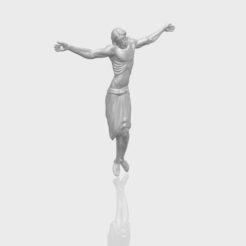 17_TDA0233_Jesus_iv_88mmA00-1.png Download free STL file Jesus 04 • Template to 3D print, GeorgesNikkei