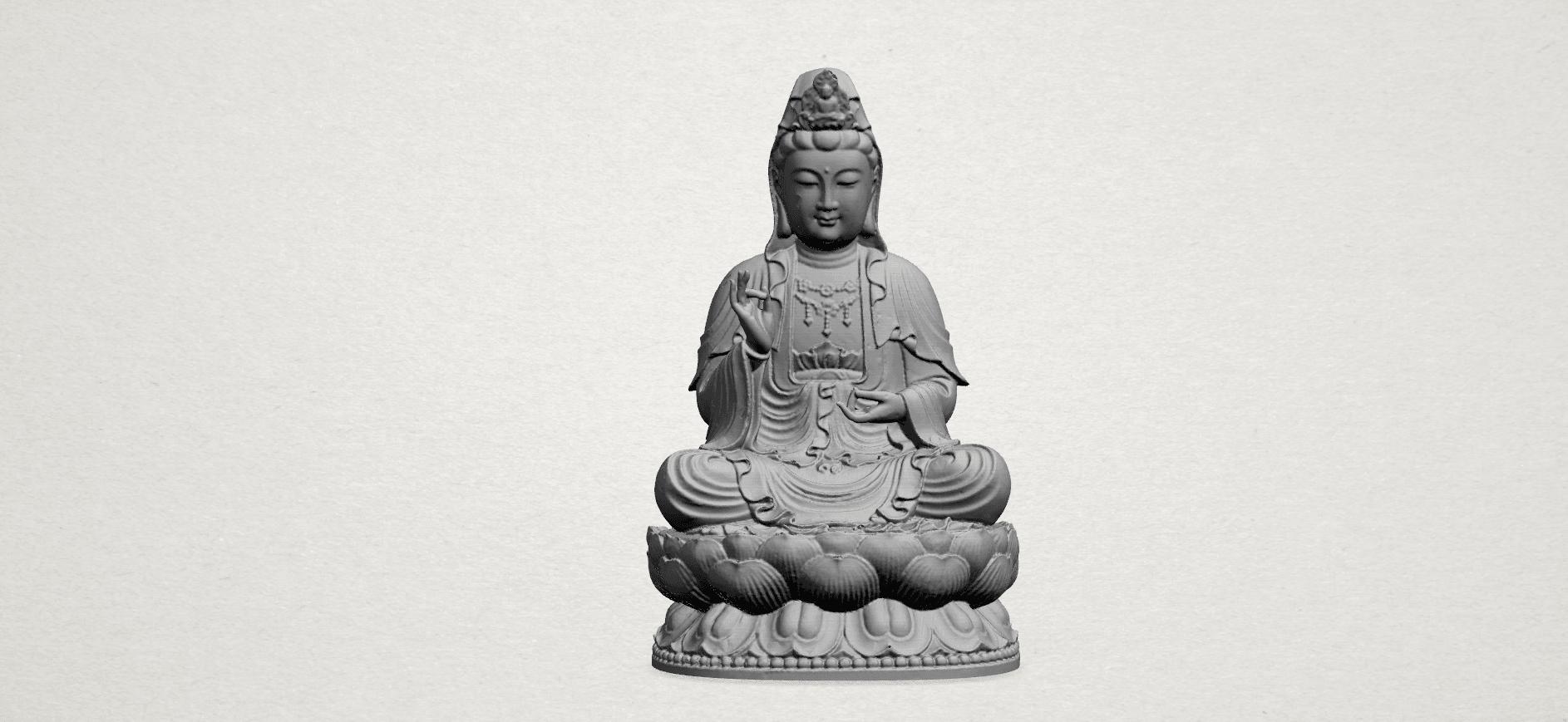 Bodhisattva Buddha - A01.png Download free STL file Avalokitesvara Bodhisattva 01 • 3D print object, GeorgesNikkei