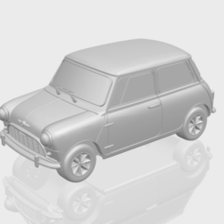 Fichier impression 3D gratuit Morris Mini Minor Mark-1, GeorgesNikkei