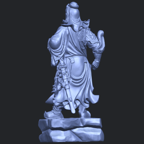 03_TDA0330_Guan_Gong_iiiB06.png Download free STL file Guan Gong 03 • 3D printable template, GeorgesNikkei