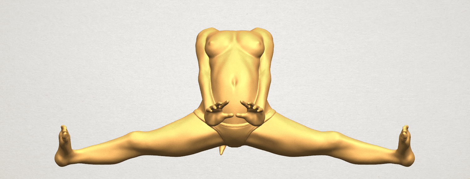 TDA0562 Naked Girl 20 open leg a04.png Download free STL file Naked Girl 20 open leg • 3D printable template, GeorgesNikkei