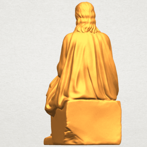 A03.png Download free STL file Jesus 06 • 3D printer object, GeorgesNikkei