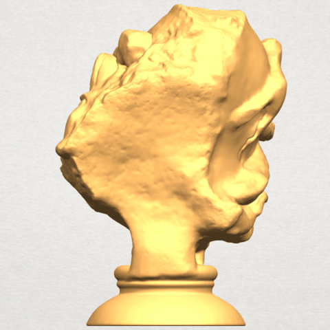 A06.png Download free STL file Bust of Shock • 3D print object, GeorgesNikkei