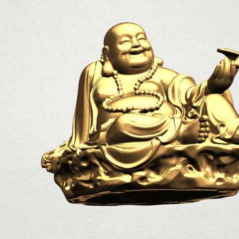 Metteyya Buddha 06 - A08.png Download free STL file Metteyya Buddha 06 • 3D print model, GeorgesNikkei
