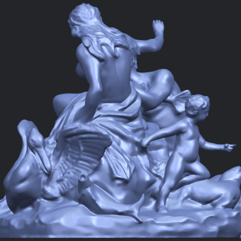 28_TDA0166_Naked_Couple_viB03.png Download free STL file  Naked Couple 06 • 3D printing object, GeorgesNikkei