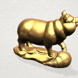 Chinese Horoscope12-B04.png Download free STL file Chinese Horoscope 12 pig • Model to 3D print, GeorgesNikkei