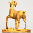 Download free STL file Goat 03 • 3D printer design, GeorgesNikkei