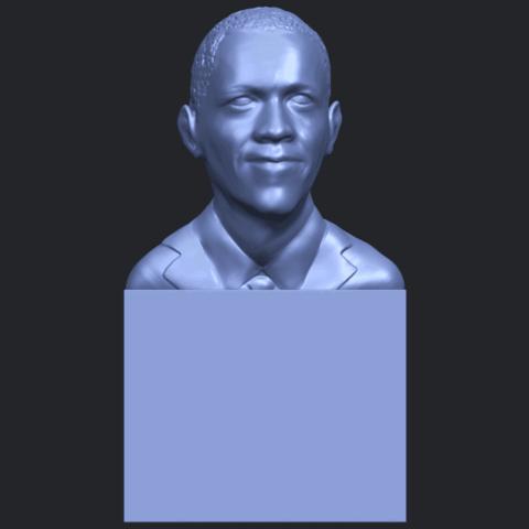 02_TDA0294_ObamaB01.png Download free STL file Obama • 3D print model, GeorgesNikkei