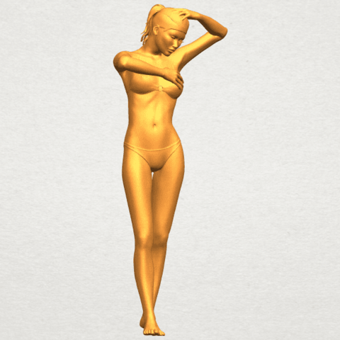 01.png Download free STL file Naked Girl D03 • 3D printing template, GeorgesNikkei