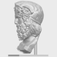 Download free 3D printer designs TDA0209 Sculpture of a head of man 01, GeorgesNikkei