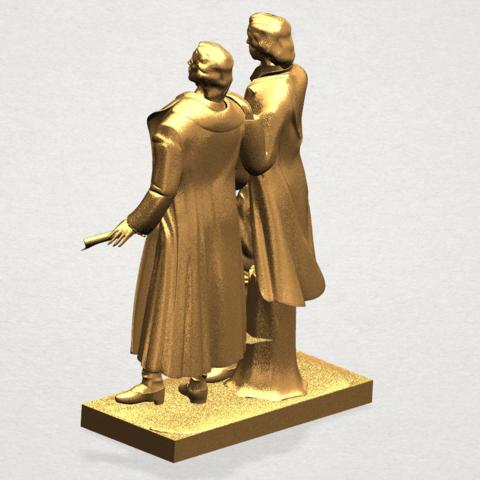 Goethe schiller 80mm - A03.png Télécharger fichier STL gratuit Goethe Schiller • Modèle imprimable en 3D, GeorgesNikkei