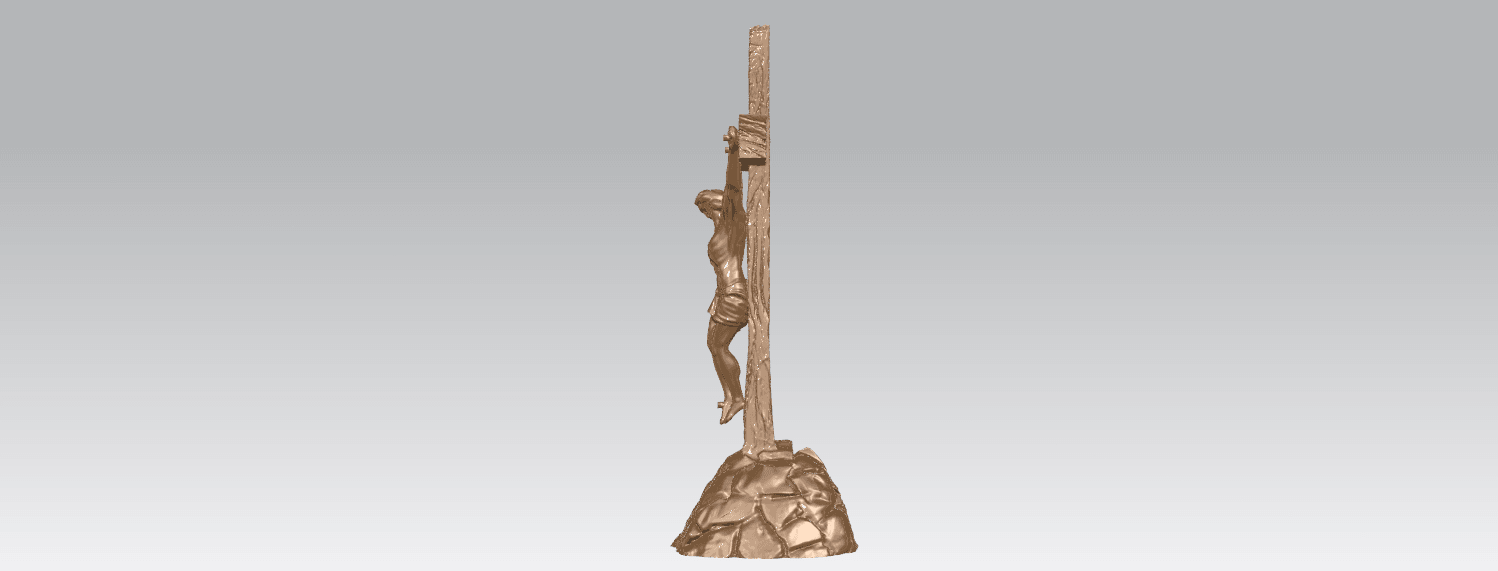 TDA0229 Jesus with cross (ii) A03.png Download free STL file Jesus with cross 02 • Template to 3D print, GeorgesNikkei