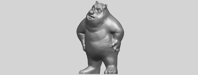 14_TDA0561_Bear_SeniorA02.png Télécharger fichier STL gratuit Bear Senior • Plan imprimable en 3D, GeorgesNikkei
