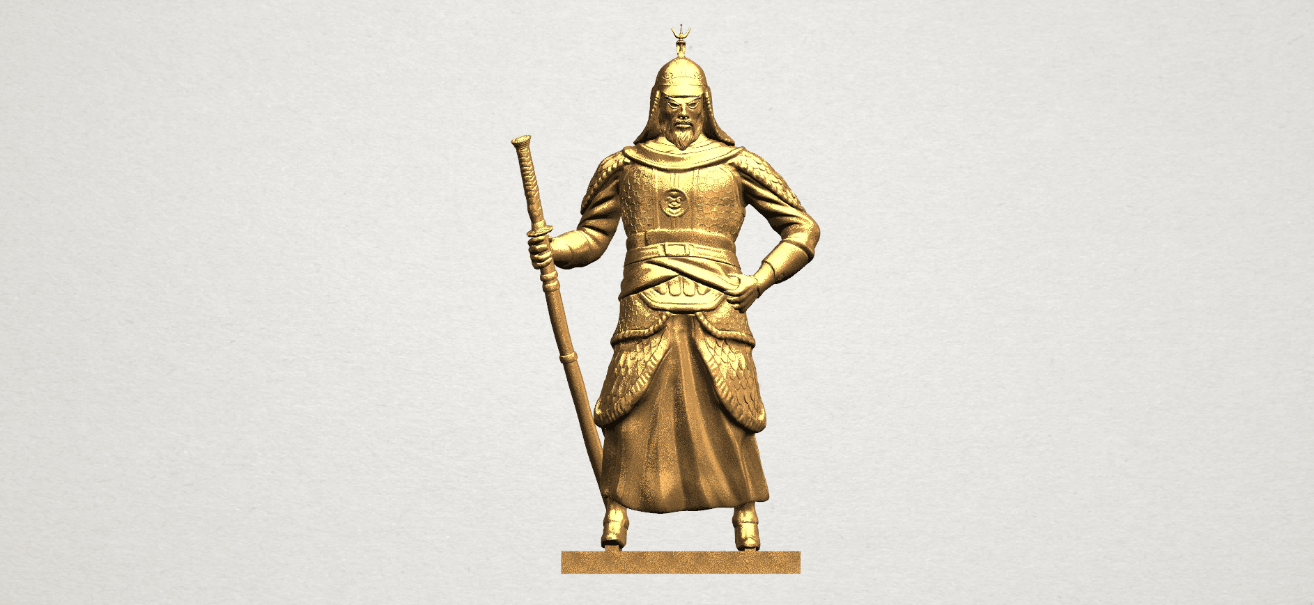 Age of Empire - warrior -C01.png Download free STL file Age of Empire - warrio • 3D print design, GeorgesNikkei
