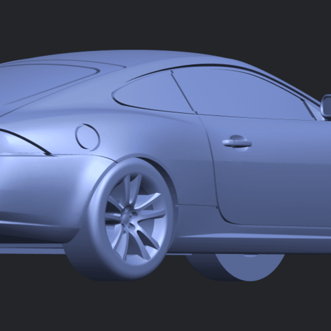 TDB003_1-50 ALLA05.png Download free STL file Jaguar X150 Coupe Cabriolet 2005 • 3D printing template, GeorgesNikkei