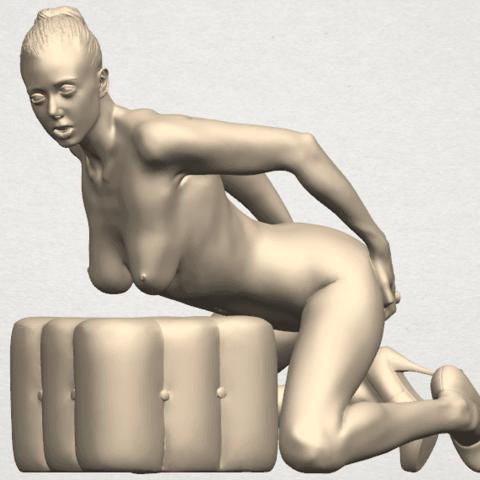 TDA0286 Naked Girl B03 09.png Download free STL file  Naked Girl B03 • 3D printing model, GeorgesNikkei