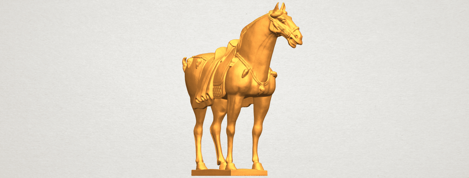 A08.png Download free STL file Horse 08 • Design to 3D print, GeorgesNikkei