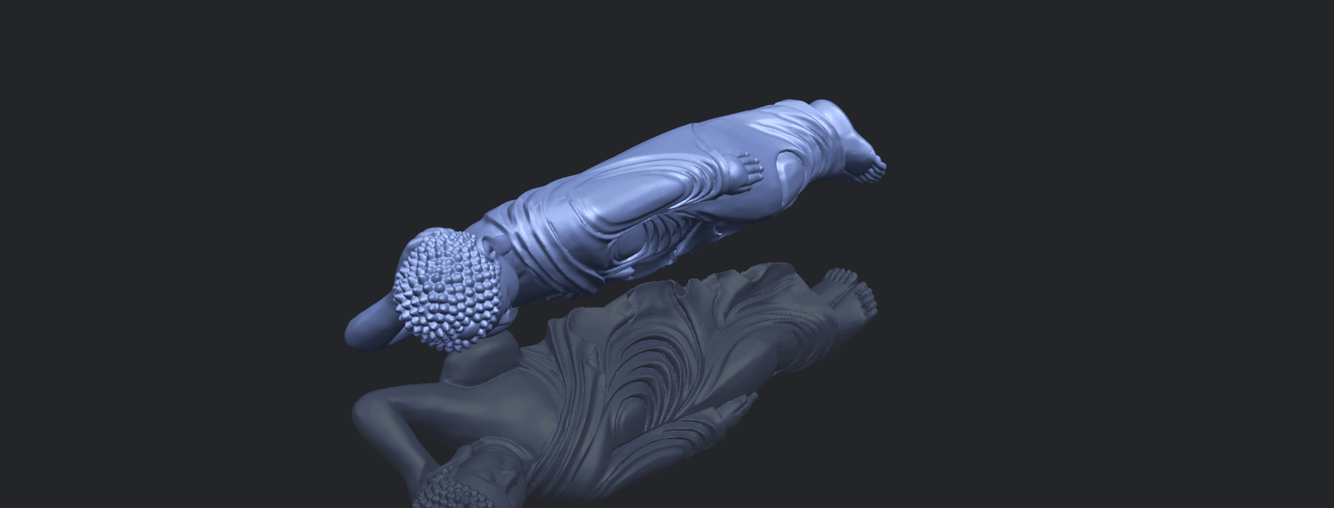 16_TDA0180_Sleeping_Buddha_(ii)_88mmB00-1.png Download free STL file Sleeping Buddha 02 • Design to 3D print, GeorgesNikkei