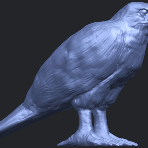 12_TDA0599_Eagle_02B07.png Download free STL file Eagle 02 • 3D printable design, GeorgesNikkei