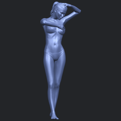 16_TDA0633_Naked_Girl_D03-B01.png Download free STL file Naked Girl D03 • 3D printing template, GeorgesNikkei