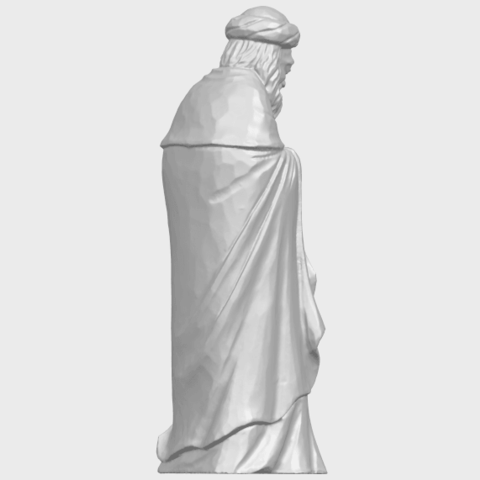 26_Sculpture_of_Arabian_88mm-A07.png Download free STL file Sculpture of Arabian • 3D print template, GeorgesNikkei