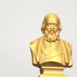 Télécharger fichier STL gratuit Sculpture d'une tête d'homme 03, GeorgesNikkei