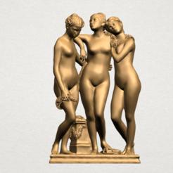 Fichier STL Sculpture of Three Grace 02, Miketon