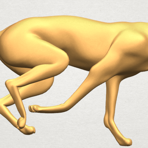 TDA0529 Skinny Dog 01 A01 ex800.png Download free STL file Skinny Dog 01 • Object to 3D print, GeorgesNikkei