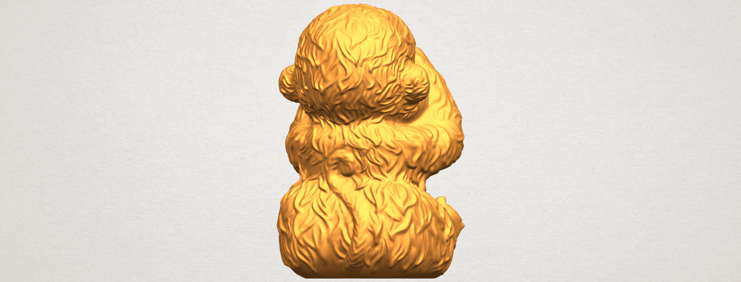 A07.png Download free STL file Monkey A03 • 3D printable model, GeorgesNikkei
