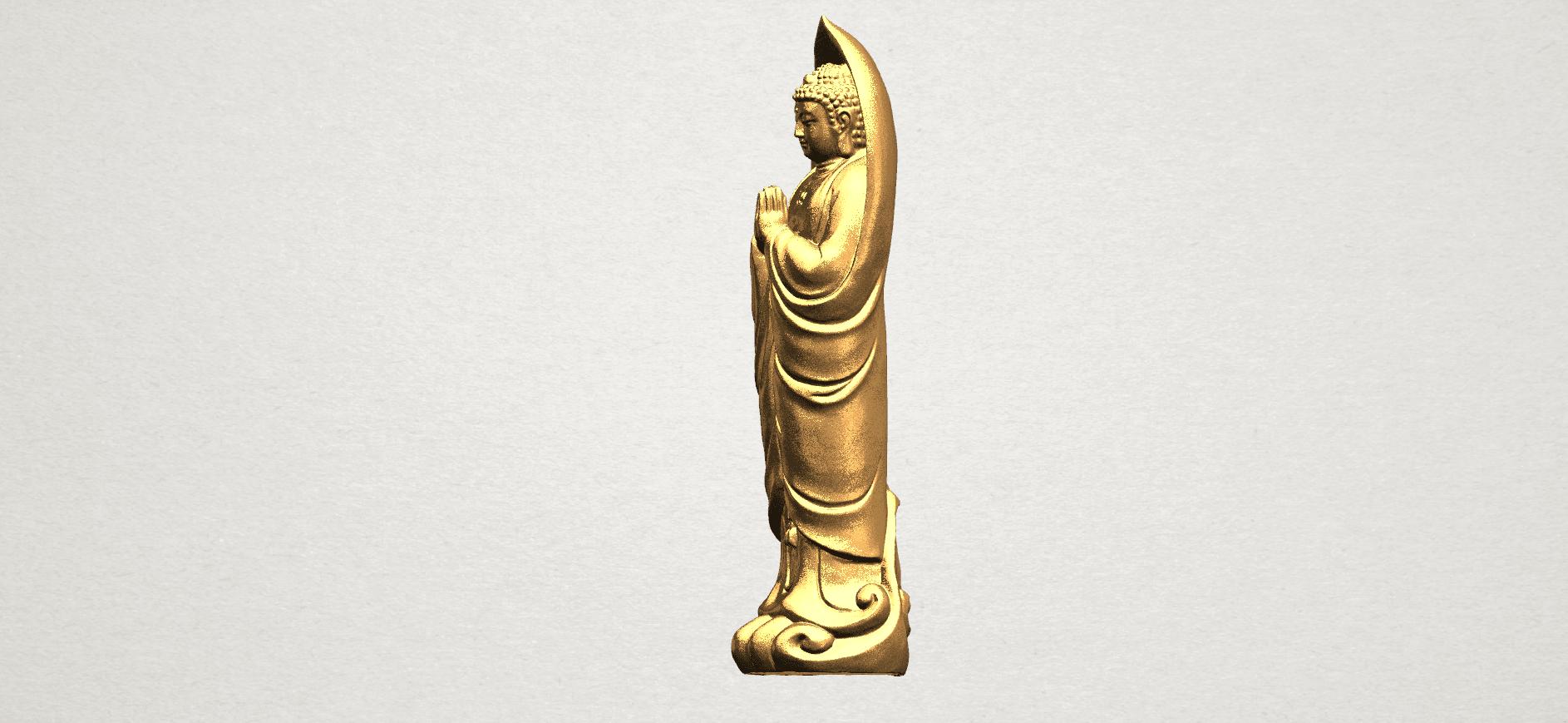Gautama Buddha Standing (iv) A03.png Download free STL file Gautama Buddha Standing 04 • 3D printable design, GeorgesNikkei