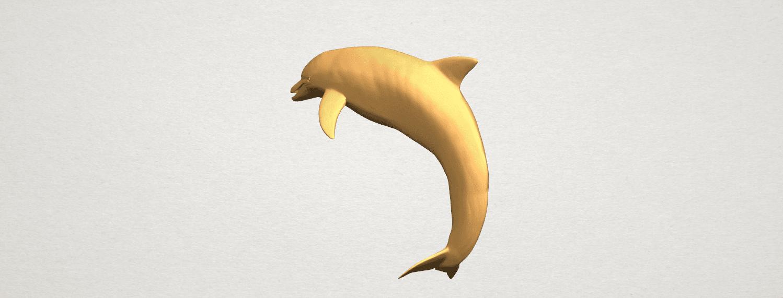TDA0613 Dolphin 03 A02.png Télécharger fichier STL gratuit Dauphin 03 • Objet pour impression 3D, GeorgesNikkei