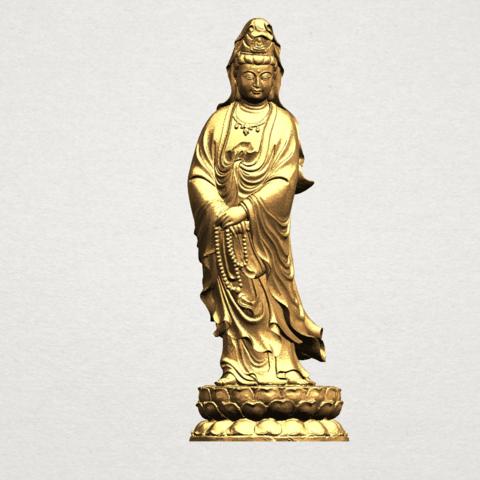Free 3D print files Avalokitesvara Bodhisattva - Standing 03, GeorgesNikkei