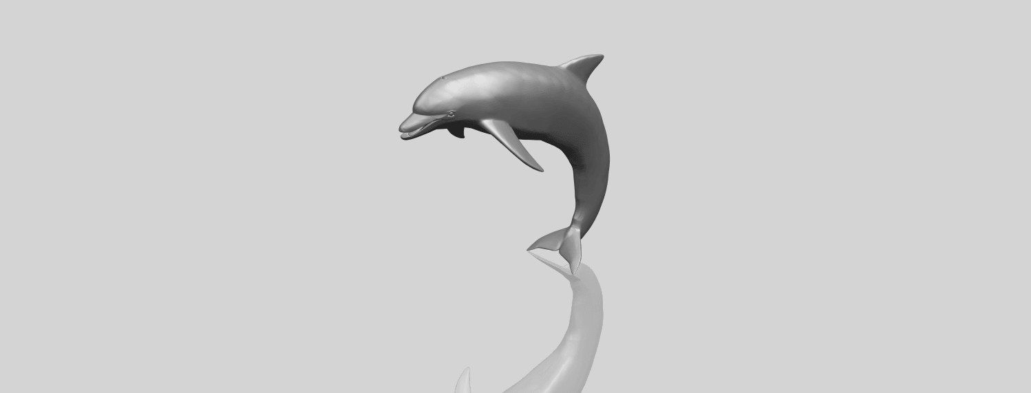 27_TDA0613_Dolphin_03A00-1.png Download free STL file Dolphin 03 • Design to 3D print, GeorgesNikkei