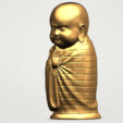 Little Monk 80mm - A02.png Download free STL file Little Monk 01 • 3D printable design, GeorgesNikkei