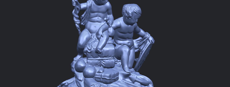 23_TDA0271_Two_kids_iiA10.png Télécharger fichier STL gratuit Deux enfants 02 • Design à imprimer en 3D, GeorgesNikkei