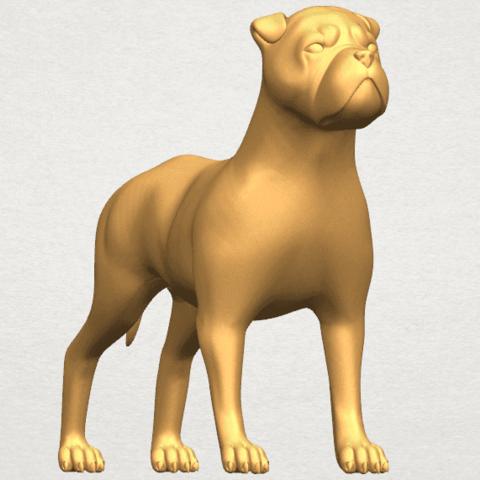 TDA0524 Bull Dog 05 A08.png Download free STL file Bull Dog 05 • 3D printer design, GeorgesNikkei