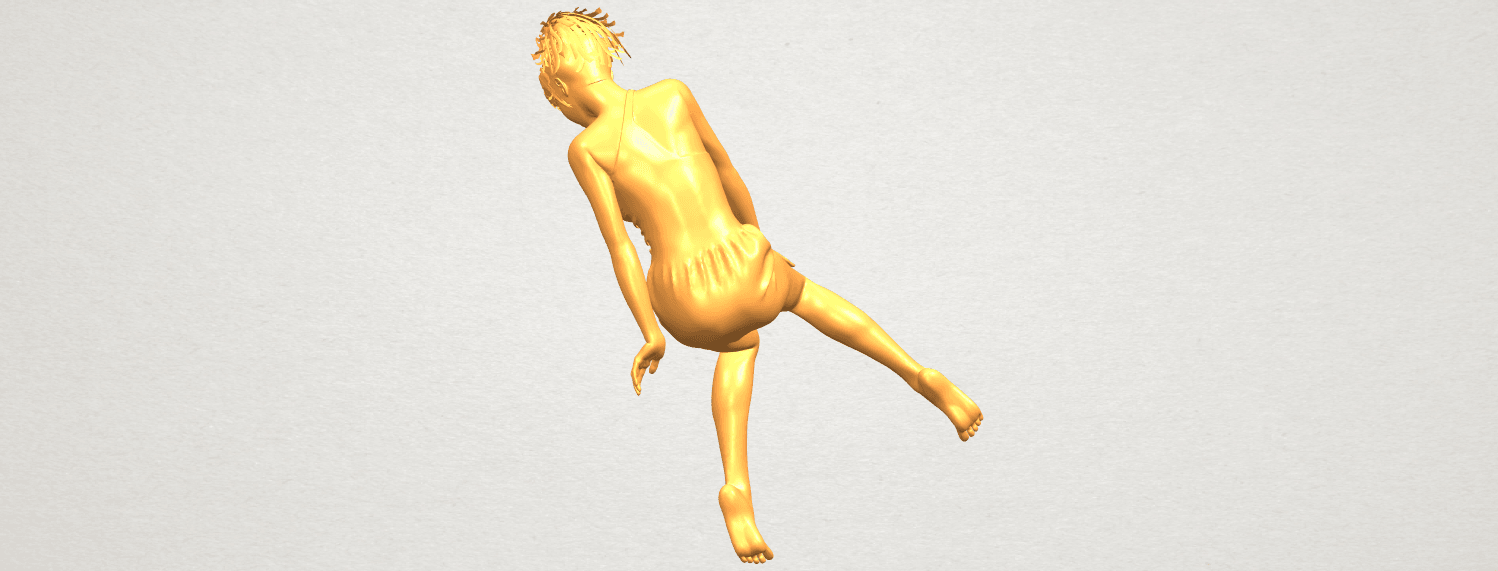 A05.png Download free STL file Naked Girl E05 • 3D print object, GeorgesNikkei