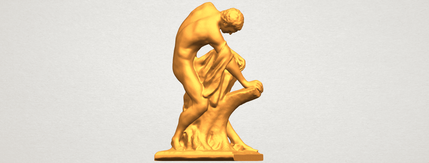 A07.png Download free STL file Milo of Croton • 3D printing design, GeorgesNikkei