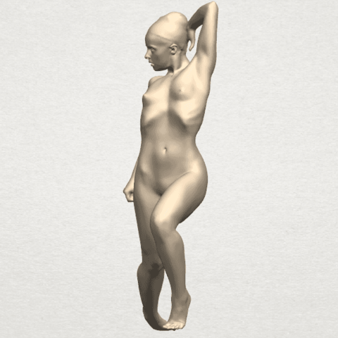 TDA0279 Naked Girl A06 03.png Download free STL file Naked Girl A06 • 3D printing template, GeorgesNikkei
