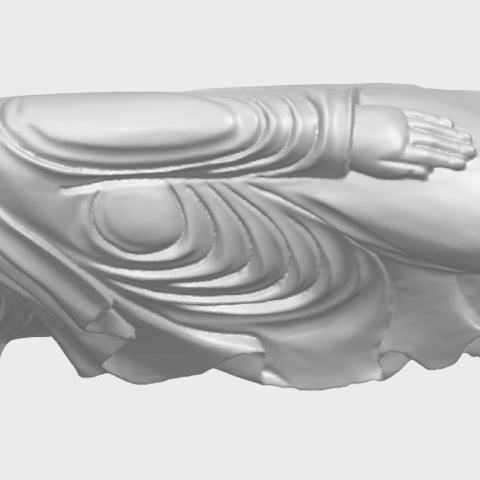 16_TDA0180_Sleeping_Buddha_(ii)_88mmA01.png Download free STL file Sleeping Buddha 02 • Design to 3D print, GeorgesNikkei